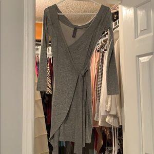 Grey sweater dress never worn